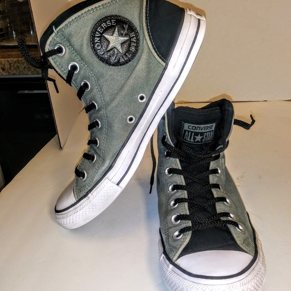45185d103d15 Converse Other - Converse All Star high top grey and black sneaker